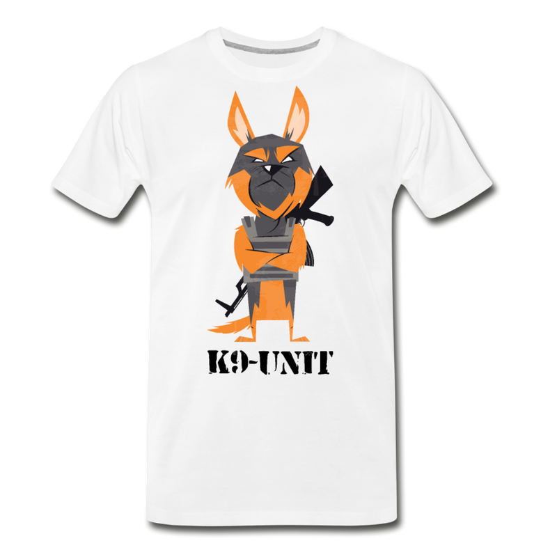 K9 Dog T-shirt Men's Premium Funny Animal Graphic Tee