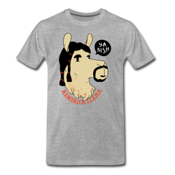 Kendrick Llama Funny T-shirt Men's Premium Funny Graphic Animal Tee