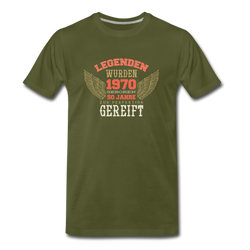 50 Years Old German Quote T-shirt Men's Premium Funny Vintage Graphic