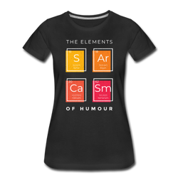 Sarcasm Elements T-shirt Women¡¯s Premium Funny Graphic Tee