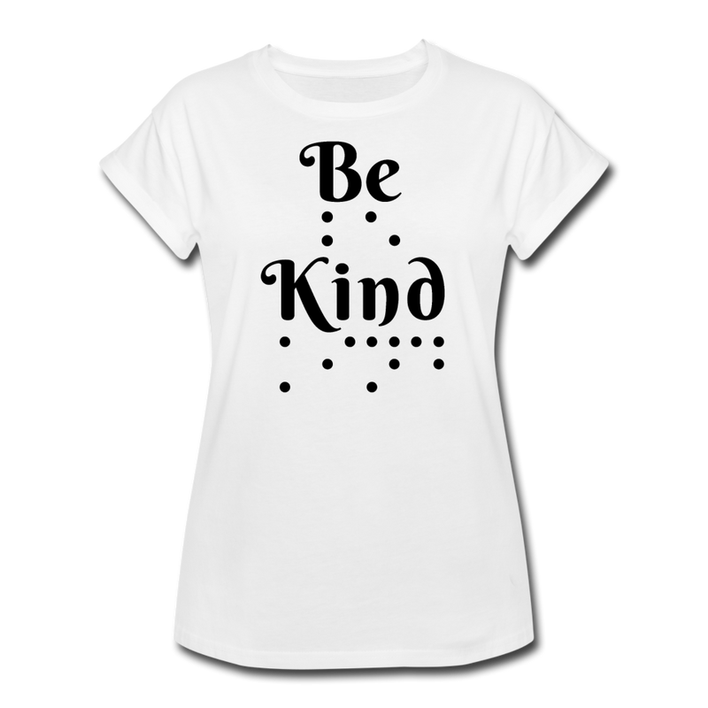 Be Kind Boyfriend Tee Women's Relaxed Fit T-Shirt