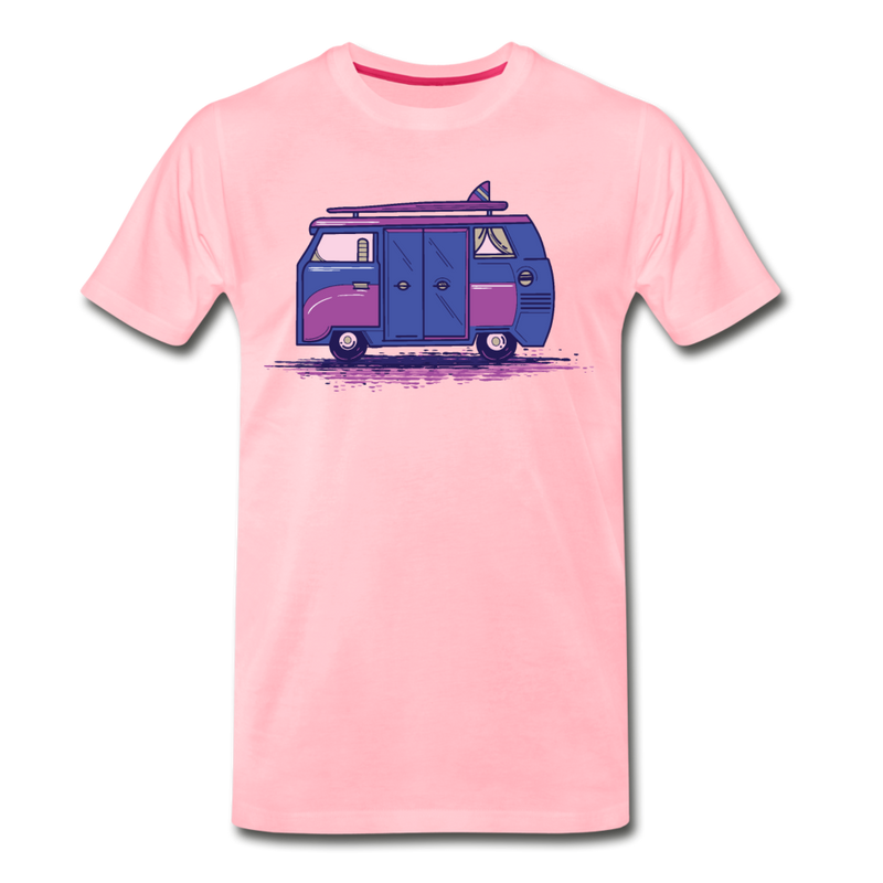 Colored Camper Van T-shirt Unisex Funny Graphic Tee