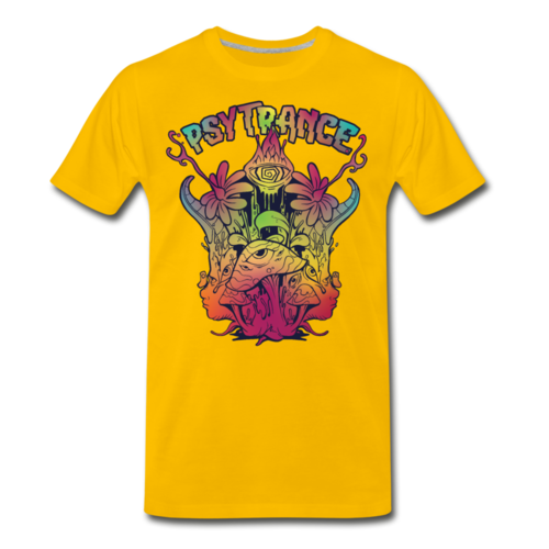 Psytrance Trippy Psychedelic T-shirt Unisex Funny Graphic Tee
