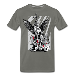 Saint Michael T-shirt Unisex Funny Graphic Tee
