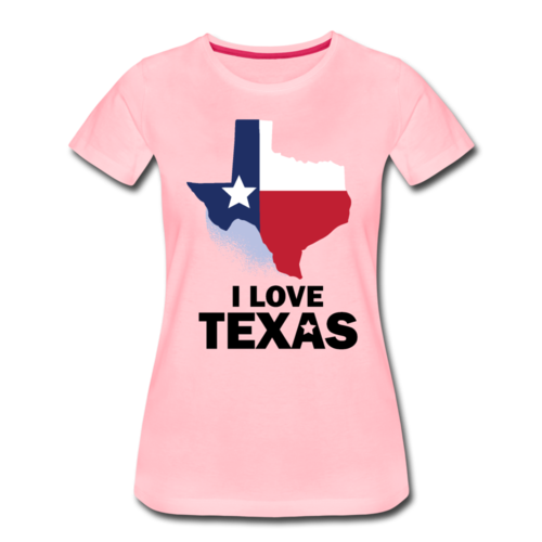 Love Texas T-shirt Women¡¯s Funny Graphic Tee