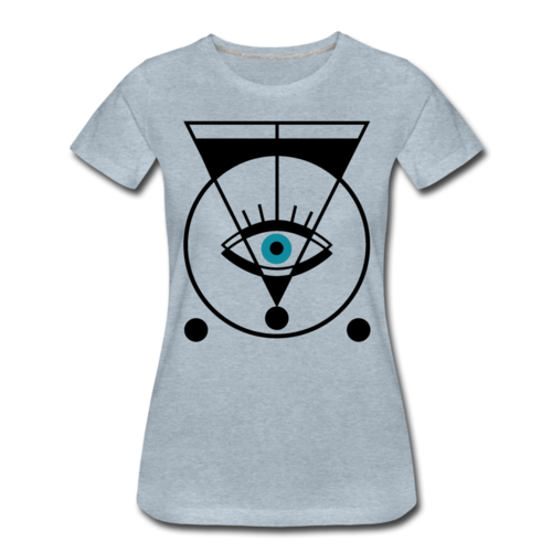 Geometric Eye T-shirt Women¡¯s Funny Graphic Tee