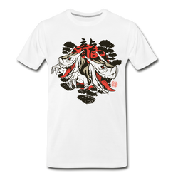 Japanese Dragons T-shirt Unisex Funny Graphic Tee