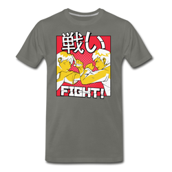 Anime Fight T-shirt Unisex Funny Graphic Tee