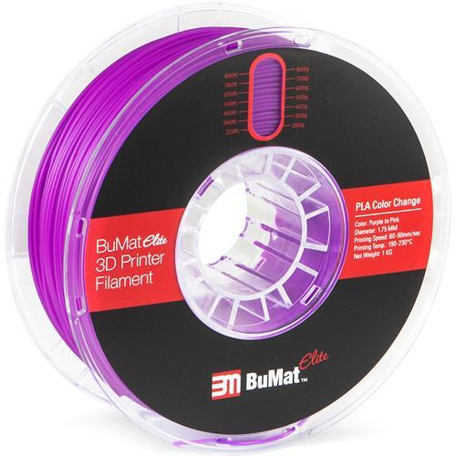 BuMat Elite 1.75mm Color Change - CASE of 12 Spools (1.75mm/1kg) - Project 3D Printers