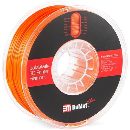 BuMat Elite 1.75mm High-Speed PLA Filament - CASE of 12 Spools (1.75mm/1kg) - Project 3D Printers