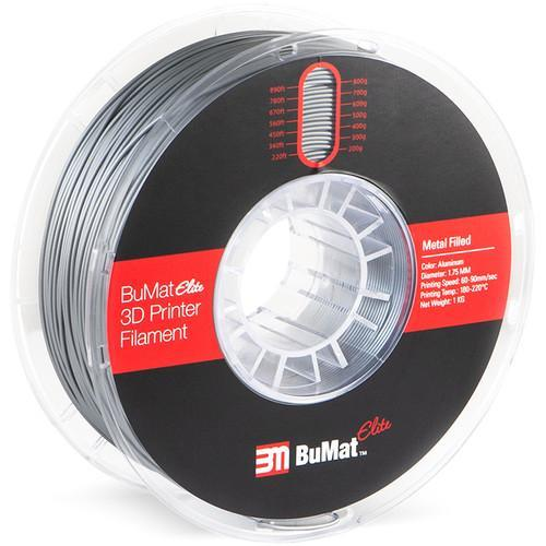 BuMat Elite 1.75mm Metal-Filled Filament (1kg) - CASE of 12 Spools - Project 3D Printers