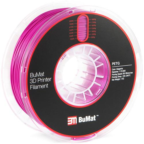 BuMat 1.75mm PETG Filament (1.75mm/1kg) - Project 3D Printers