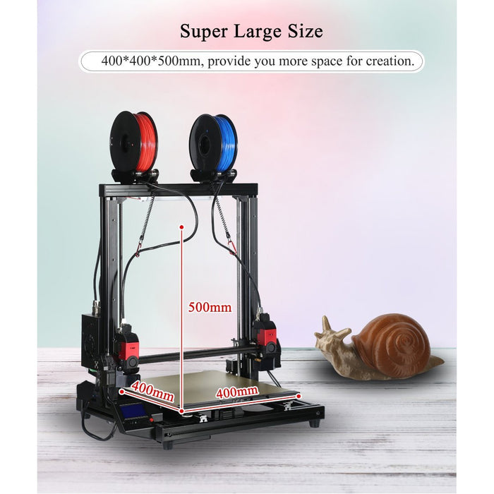 Formbot - Vivedino T-Rex 3.0 500MM Multi-function Big Size 3D Printer w/ Optional Laser Engraver - Project 3D Printers