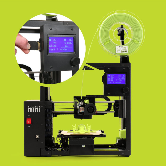 Lulzbot Mini v2.0 3D Printer - Project 3D Printers