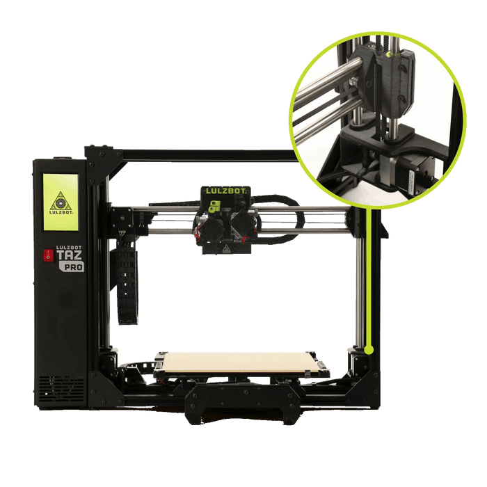 Lulzbot TAZ Pro 3D Printer - Project 3D Printers