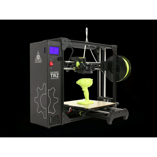 Lulzbot TAZ Workhorse 3D Printer - Project 3D Printers