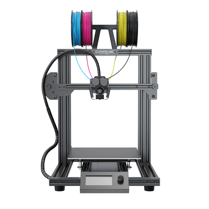 M3D - THE Crane Quad 3D Printer - Project 3D Printers
