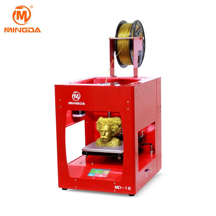 Mingda - MD 16 3D Printer - Blue, Red, or Yellow - Project 3D Printers