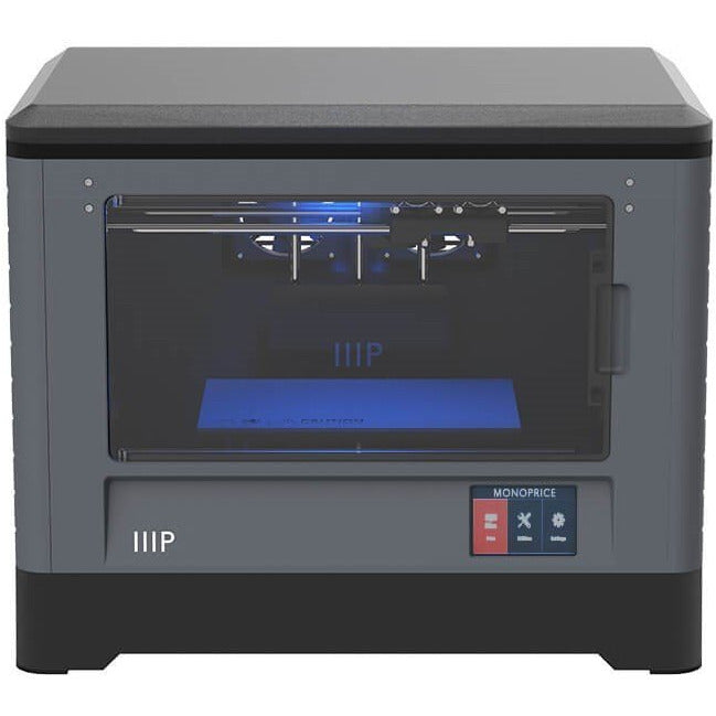 Monoprice MP Fully Enclosed Dual Extruder 3D Printer, Easy Wi-Fi, Touch Screen, Camera (30526) - Project 3D Printers