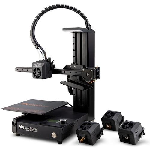 EcubMaker - TOYDIY 4-In-1 3D Printer/CNC/Laser/Dual FDM - Project 3D Printers