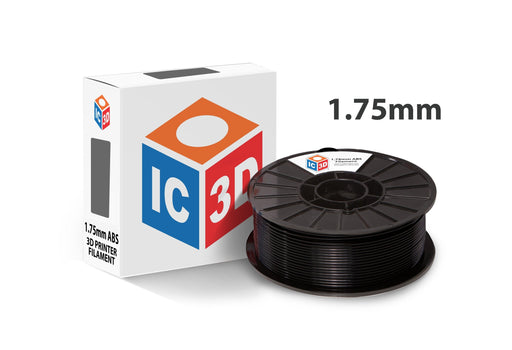 ABS by IC3D (1.75 mm, 1 kg reel) - Project 3D Printers