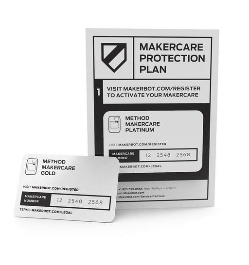 MakerBot MakerCare Preferred Protection Plan for the Replicator+ - Project 3D Printers