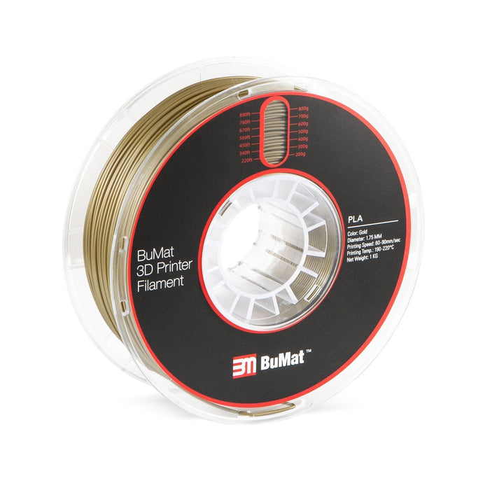 BuMat PLA Filament (1.75mm/1kg) - Project 3D Printers