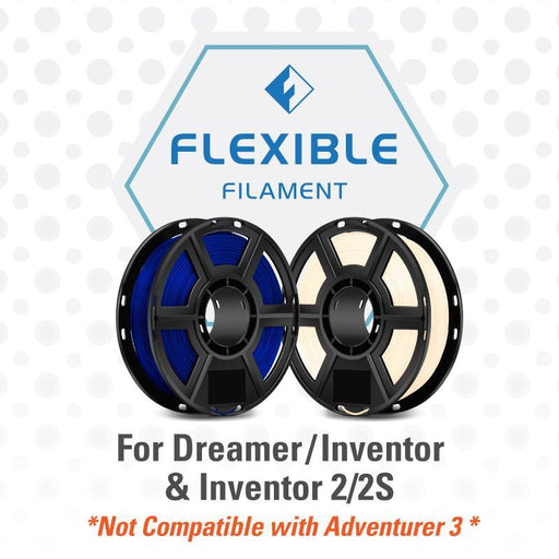 FlashForge Flexible Filament (For Dreamer and Inventor Series) - Project 3D Printers