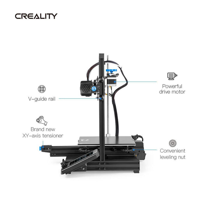 Creality Ender-3 V2 3D Printer - Project 3D Printers