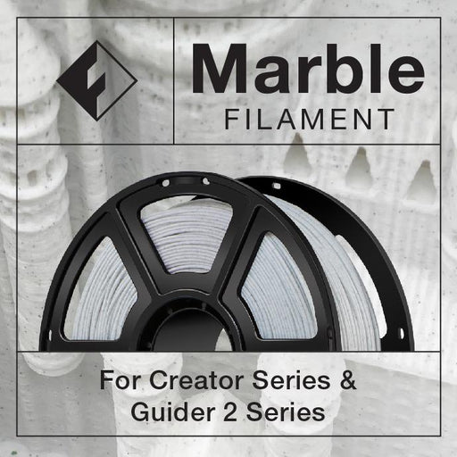FlashForge - Marble Color Filament (for Creator Series and Guider 2 Series) - Project 3D Printers