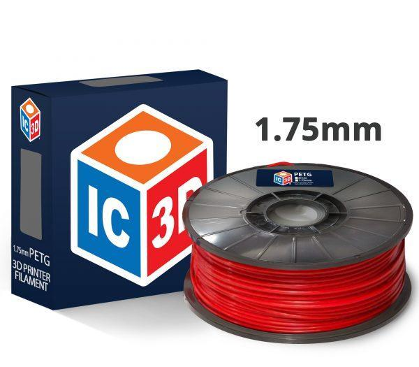 PETG by IC3D (1.75mm/1kg Reel) - Project 3D Printers
