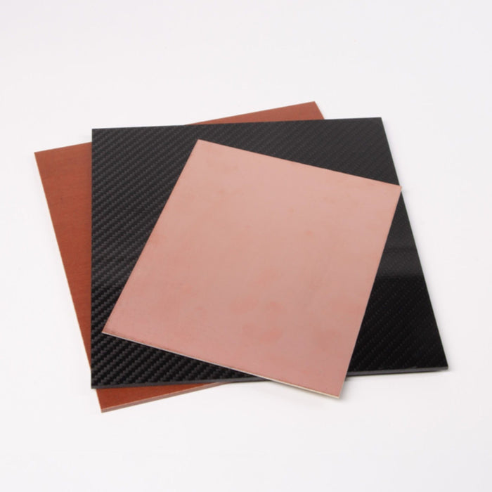ZMorph Composites Materials Bundle (Includes PCB (FR4), Textolite, Carbon Laminate)