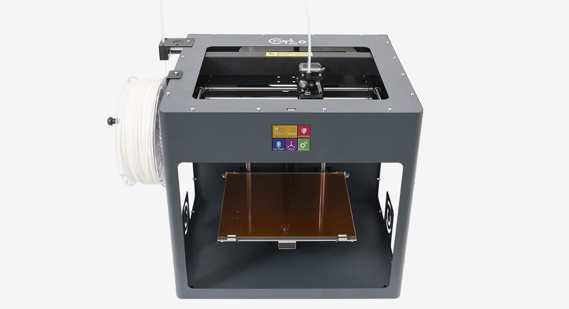 Craftbot Plus PRO (Upgraded with Glass Build Plate and All-Metal Hotend) - Project 3D Printers