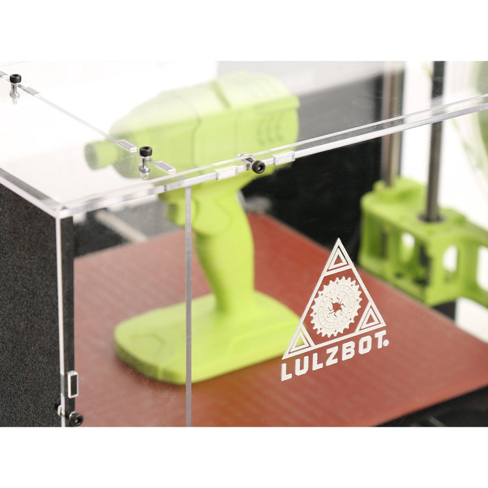 Lulzbot TAZ 6 ABS+ Enclosure by Printed Solid - Project 3D Printers