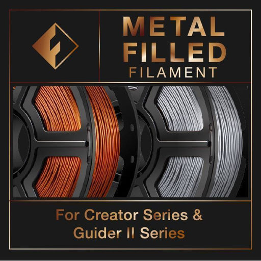 FlashForge Metal Filled Filament (For Creator and Guider II Series) 1.75mm - Project 3D Printers