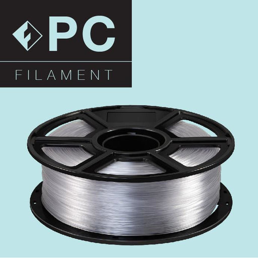 FlashForge PC (Polycarbonate) Filament - Natural Color - 1.75mm - Project 3D Printers