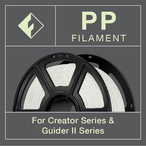 FlashForge PP (Polyproylene) Filament (For Creator and Guider II Series) - 1.75mm - Project 3D Printers