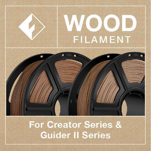 FlashForge Wood Filament  (For Creator And Guider II Series) - Project 3D Printers