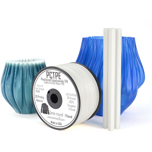 PCTPE Filament by Taulman 3D (3mm, 1 lb.) - Project 3D Printers