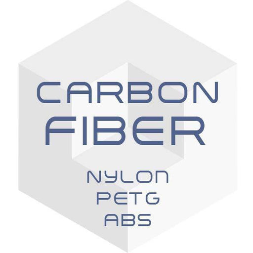 Push Plastic - CARBON FIBER Filament (1.75mm/2.85mm) - Project 3D Printers