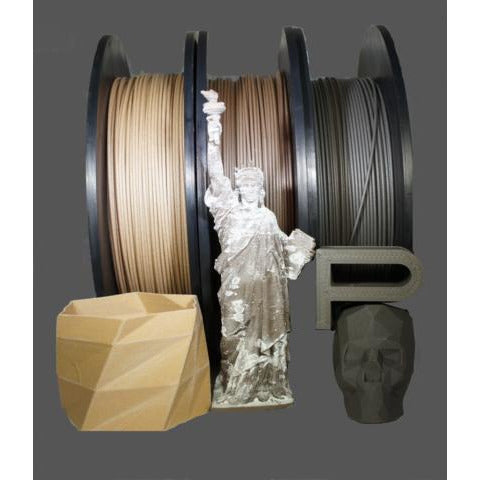 Push Plastic - Filled PLA Filament(1.75mm/2.85mm) - Project 3D Printers