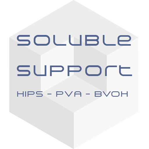 Push Plastic - Soluble Support Filament (BVOH/PVA/HIPS) - Project 3D Printers