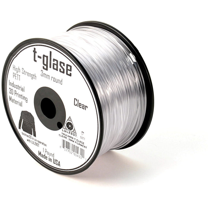T-glase 3mm Filament 1 lb. Reel (Taulman) - Project 3D Printers