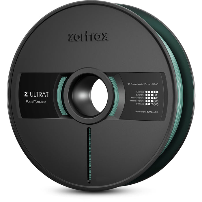 Zortrax - Z-ULTRAT Filament (For the M200 and M200 Plus; 800g Spool) - Project 3D Printers
