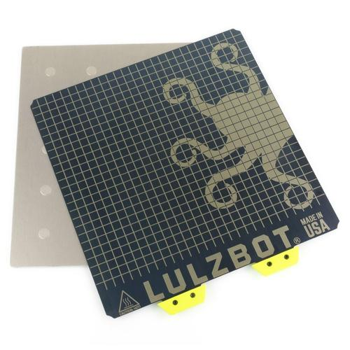 LulzBot TAZ Magnetic Flex Bed Assembly, Retail Packaged - Project 3D Printers