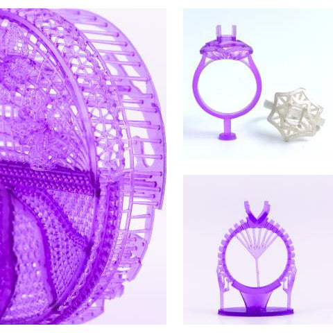 UNIZ zWAX Purple Resin - Project 3D Printers