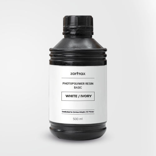 Zortrax Basic Resin (For Inkspire) - Project 3D Printers