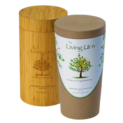 The Living Urn (RRP: $289) - Funeral Homes - The Living Urn Bio Urn