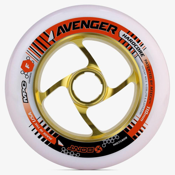 Avenger Hardcore 110mm Inline Skate Wheel