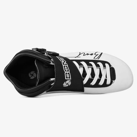 white-black BNT Inline Speed Skate Boots